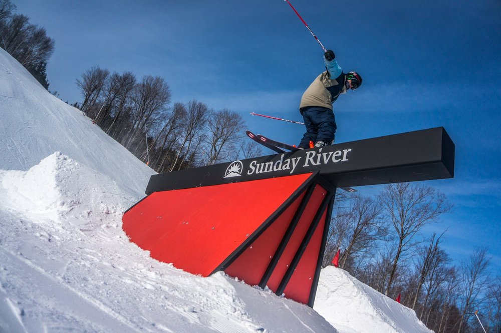Sunday River Ski Jump